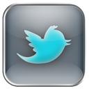 twitter DimGray icon