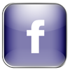 Facebook LightSlateGray icon