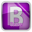 base, libre Black icon