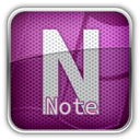 Ms, Note Purple icon
