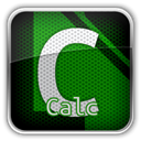 libreofficecalc DarkGreen icon