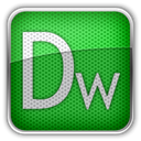 adobe, dreamweaver ForestGreen icon