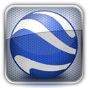 Googleearth DarkSlateBlue icon