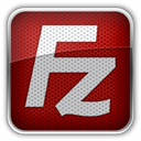 Filezilla Maroon icon