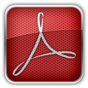 adobe, reader Brown icon