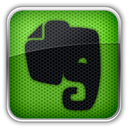 Evernote OliveDrab icon