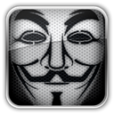 Mask, anonymous Black icon