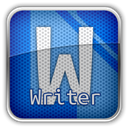 libreofficewriter SteelBlue icon