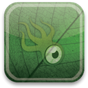 Squidoo, green, eco DarkSlateGray icon