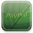 green, paypal, eco DarkSlateGray icon