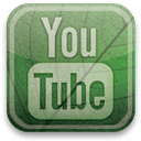 eco, green, youtube DarkSeaGreen icon