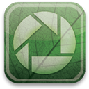 eco, green, Picasa DarkSeaGreen icon