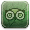 green, eco, tripadvisor DarkSlateGray icon
