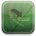 eco, green, Rapidshare DarkSlateGray icon