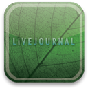 Livejournal, green, eco DarkSlateGray icon