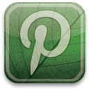 eco, green, pinterest DarkSlateGray icon