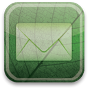 eco, green, Email DarkSeaGreen icon