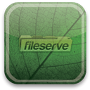 eco, green, fileserve DarkSlateGray icon