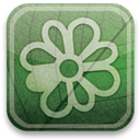 green, eco, icq DarkSeaGreen icon