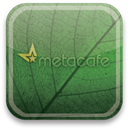 Metacafe, green, eco DarkSlateGray icon