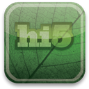 hi, green, eco DarkSlateGray icon