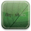 eco, green, depositfiles DarkSlateGray icon