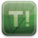 green, taringa, eco DarkSeaGreen icon