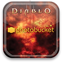 photobucket, diablo Black icon