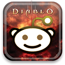 diablo, Reddit Black icon
