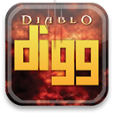 Digg, diablo SandyBrown icon