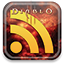diablo, Rss, feed SandyBrown icon