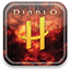 diablo, hubpages Black icon