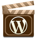 Wordpress, movie Maroon icon