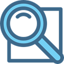 search, zoom, Loupe, Tools And Utensils, magnifying glass, detective DarkSlateBlue icon
