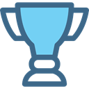 Champion, cup, award, winner, trophy DarkSlateBlue icon