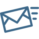 mail, Message, Email, envelope, interface, send, Note Black icon