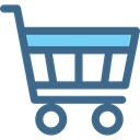 Shopping Store, Supermarket, commerce, shopping cart, online store DarkSlateBlue icon