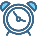 alarm clock, Tools And Utensils, Clock, timer, time DarkSlateBlue icon