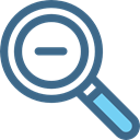 zoom, search, Zoom out, Tools And Utensils, Loupe, magnifying glass, detective DarkSlateBlue icon