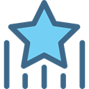 rate, shapes, signs, Favorite, star, Favourite DarkSlateBlue icon