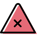 triangle, traffic sign, danger, warning, signs, Alert LightCoral icon