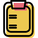 Writing Tool, notepad, education, Tools And Utensils, Notebook SandyBrown icon