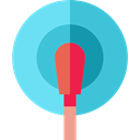 doctor, medical, hospital, Electrode, tool MediumTurquoise icon