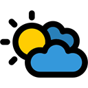 Cloudy, Bad Weather, sky, weather, meteorology Black icon
