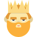 people, king, Character, legend, Fantasy, Fairy Tale, Folklore, Avatar SandyBrown icon