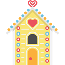 legend, Fairy Tale, buildings, Gingerbread House, Folklore, Fantasy Khaki icon