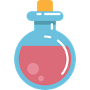 Fantasy, potion, Fairy Tale, Folklore, legend, flask SkyBlue icon