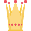king, monarchy, Royalty, Queen, education, party, carnival, crown Khaki icon