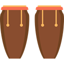 Conga, music, Percussion Instrument, musical instrument, Caribbean, Orchestra Sienna icon