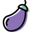 food, organic, Healthy Food, diet, vegetarian, vegetable, vegan, Potatoe MediumPurple icon